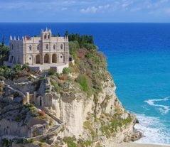 Italy History: Santuario Santa Maria dell'Isola in Tropea, Calabria
