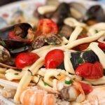 Campania Linguine Sea Food Pasta Dish