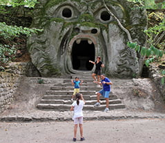 Get Lost in the Mystery of Bomarzo Monster Park in Lazio