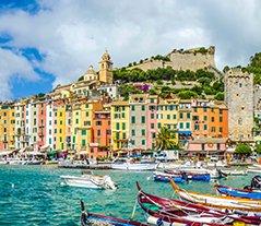 Fisherman town of Portovenere, Liguria, Italy