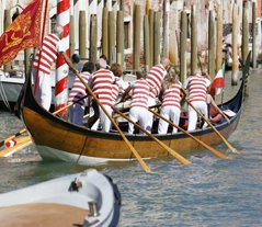 The Spectacular Boats of Venice's Regatta