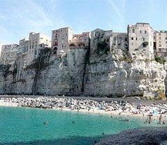 Capo Vaticano: white beaches and blue sea of Calabria