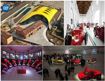 Ferrari Museum In Modena Italy