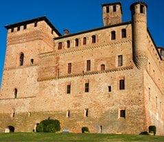 Castle Grinzane Cavour Langhe Region Piedmont Italy