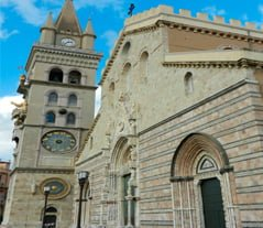 Cathedral Of Messina's Clock Tower
