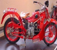 Guzzi Motorbike: the Flight of the Eagle
