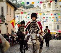 Ronciglione Carnival and Ussari parade