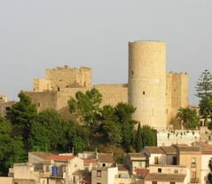 Salemi Sicily Normanno Svevo Castle view