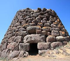 Italian Monuments: Nuraghe Santu Antine in Sardinia, Italy