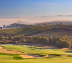 View of Castiglion del Bosco Golf Club Tuscany