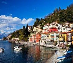 "Como Lake (Lago di Como): """"I ask myself is this a dream?"""