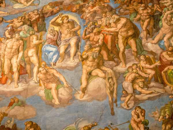 Lazio_Rome_Vatican_Sistine_Chapel_Frescoes
