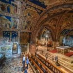 Umbria_Assisi_Basilica_San_Francis_Interior_Frescoes