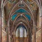 Umbria_Assisi_Cathedral_View_Frescoes_Internal