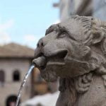 Umbria_Assisi_CityHall_Square_Fountain_View