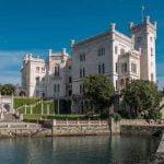 Friuli_Trieste_Miramare_Palace_Castle_View
