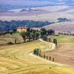 Tuscany_Valdorcia_Cypress_Chappel_Hillcountry_View_Panorama